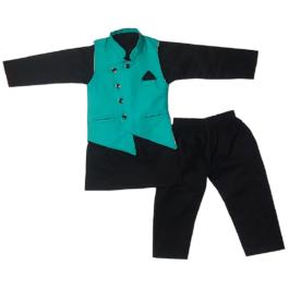 HVM Kids Party Wear Kurta Pyjama Set