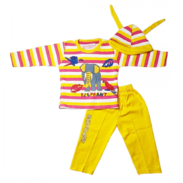 HVM Baby Boy Full Sleeves Dress