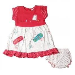 HVM Baby Girl Party Wear Dress