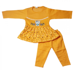 HVM Baby Girls Full Sleeves Dress