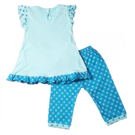 HVM Baby Girls Top & Capri Set