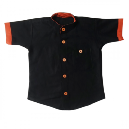 HVM Kids Chinese Collar Shirt