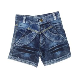 HVM Girls Denim Shorts