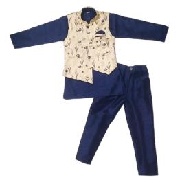 HVM Boys Party Wear Kurta Pyjama Set