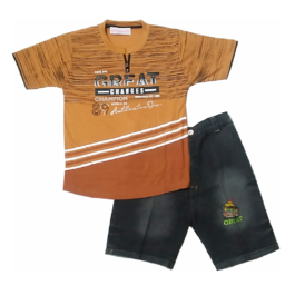 HVM Boys Shorts & T-shirt Set