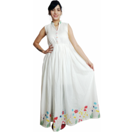 HVM Ladies Pure Cotton Gown