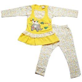 HVM Baby Girl Full Sleeves Dress