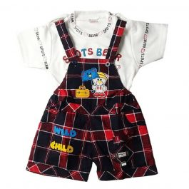 HVM Baby Dungaree Set