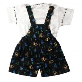 HVM Baby Dungaree Set