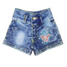HVM Girls Denim Shorts