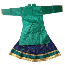 HVM Girls Lehenga Choli Set