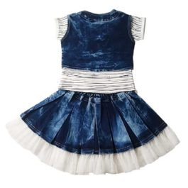HVM Girls Top and Skirt Set