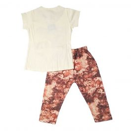 HVM Girls T-Shirt & Capri Set