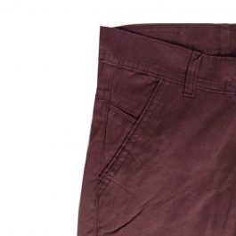 HVM Slim Fit Men Brown Cotton Trousers