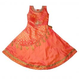 HVM Royal Princess Orange Gown