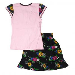 HVM Girls Top & Skirt Set