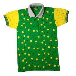 HVM Boys Double Collar Half Sleeves Polo T-shirt