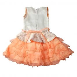 HVM Baby Girls Party Wear Frock