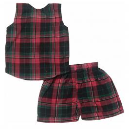 HVM Girls Printed Top & Shorts Set