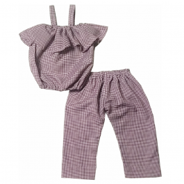 HVM Top & Pant Set For Girls