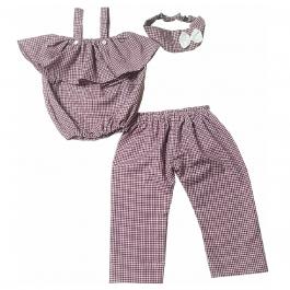 HVM Top & Pant Set For Girls