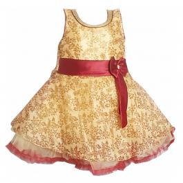 HVM Baby Girl Party Wear Frock