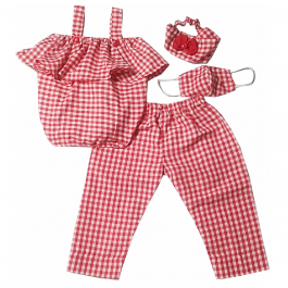 HVM Top & Pant Set with Mask