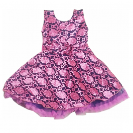 HVM Baby Girl Party Wear Frock (6-12M,12-18M, 18-24M)