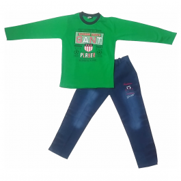 HVM Boys Full Sleeves Dress (8-9Y)