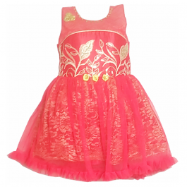 HVM Baby Girl Party Wear Frock (1-2Y)