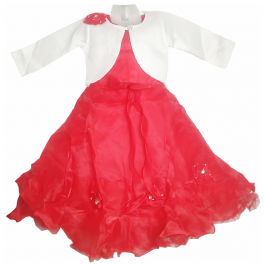 HVM Girls Party Wear Gown (2-3Y, 3-4Y, 4-5Y, 5-6Y, 6-7Y, 7-8Y)