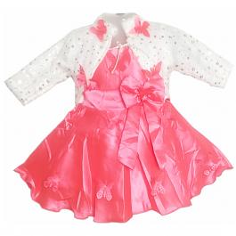 HVM Baby Girl Party Wear Frock (12-18M,18-24M,2-3Y)