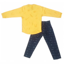 HVM Boys Full Sleeves Dress (2-3Y, 3-4Y)