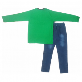 HVM Boys Full Sleeves Dress (9-10Y)