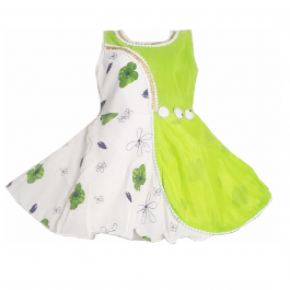 HVM Baby Girl Party Wear Frock (6-12M)