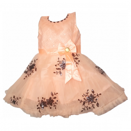 HVM Baby Girl Party Wear Frock (2-3Y, 3-4Y, 4-5Y)