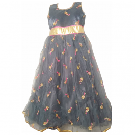 HVM Girls Party Wear Gown (8-9Y, 9-10Y, 10-11Y)