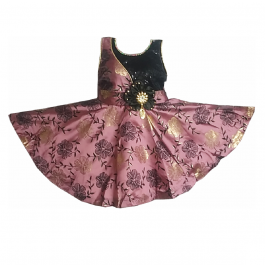 HVM Baby Girl Party Wear Frock (6-12M)