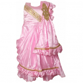 HVM Girls Party Wear Gown (4-5Y, 5-6Y, 6-7Y, 7-8Y, 8-9Y, 9-10Y)