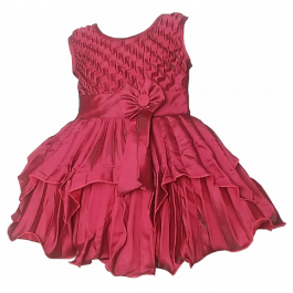 HVM Baby Girl Party Wear Frock (6-12M, 12-18M, 18-24M, 2-3Y, 3-4Y, 4-5Y)