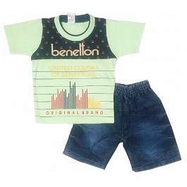 HVM Baby T-Shirt & Shorts Set-12-18M