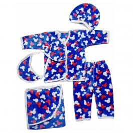 HVM Baby Winter Dress with Blanket (0-3M,3-6M)