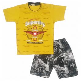 HVM Baby T-Shirt & Shorts Set-2-3Y