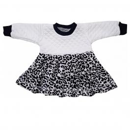 HVM Baby Girl Full Sleeves Frock (6-12M, 12-18M, 18-24M, 2-3Y, 3-4Y, 4-5Y)