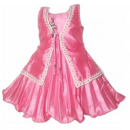 HVM Baby Girl Party Wear Frock (2-3Y, 3-4Y, 4-5Y)