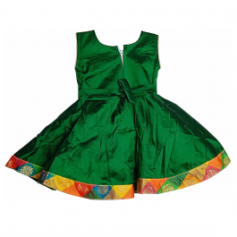 HVM Baby Girl Party Wear Frock (6-12M, 12-18M, 18-24M)